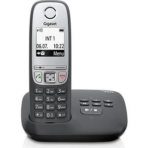 Радиотелефон Gigaset A415A черный gigaset l410 черный
