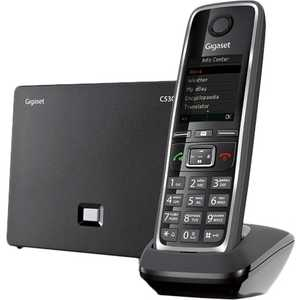 Радиотелефон Gigaset C530A IP черный ip телефон gigaset a540 ip