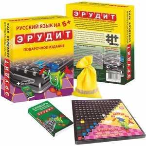 Биплант Настольная игра Эрудит подарочное издание 10008
