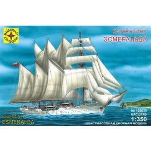 Моделист Модель корабль баркентина ''Эсмеральда'', 1:350 135039