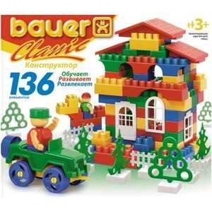 Bauer Конструктор Classik 136 элементов 197