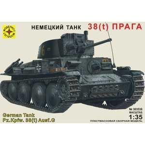 Моделист Модель немецкий танк 38(t) Прага, 1:35 303538
