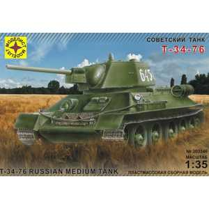 Моделист Модель танк Т-34-76 1942 г, 1:35 303546
