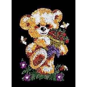 Мозаика Волшебная мастерская ''Мишка'' из пайеток 31 от ТЕХПОРТ