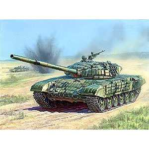 Фотография товара звезда Модель Танк с активной броней Т-72Б 3551 (376308)