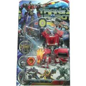 Shantou Gepai Трансформер робот-машина 3836B игрушка shantou gepai машина перевертыш 666 858