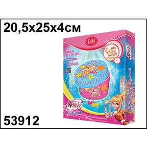 Набор шьем шкатулку Делай с мамой Winx Club (Стелла) 53912 набор шкатулка круглая сиреневая делай с мамой