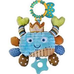 Жирафики Развививаюшая игрушка Подвеска Крабик, звук буль-буль 93868
