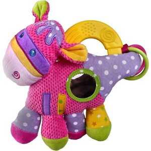 Жирафики Развививаюшая игрушка Коровка, с погремушкой, прорезывателем 93869