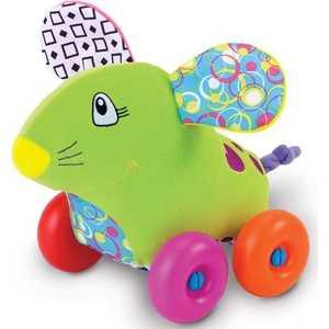 Жирафики Развививаюшая игрушка Каталка Мышка 93876