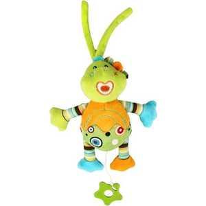 Жирафики Развививаюшая игрушка Подвеска Динозаврик музыкальный, зеленый 93927