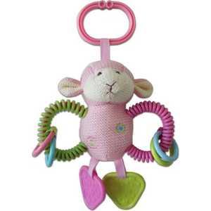Жирафики Развививаюшая игрушка спираль Овечка, розовая 939277