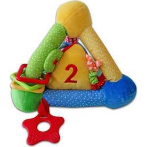 Жирафики Развививаюшая игрушка Пирамида цветная 939299