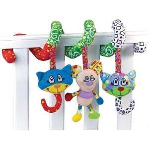 Жирафики Развививаюшая игрушка Подвеска Кот и мышонок 93938
