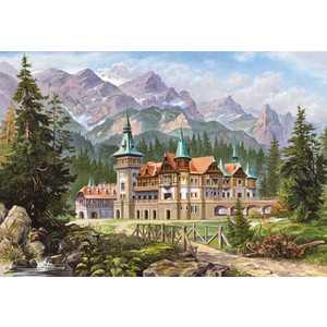 Кастор Пазлы 3000 Замок у подножия гор C-300099