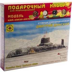 Моделист Модель атомный подводный крейсер Дмитрий Донской, 1:700 ПН170076