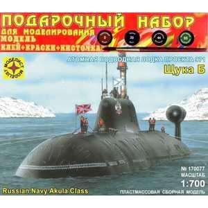 Моделист Модель подводная лодка проекта 971 Щука-Б, 1:700 ПН170077