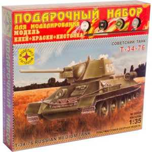 Моделист Модель Танк Т-34-76 1942 г. ПН303546