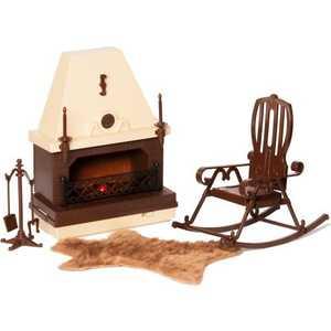 Огонек Набор мебели для каминной комнаты С-1301