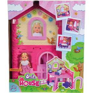 Фотография товара smoby Кукла Еви в двухэтажном доме, 12 см., 38 см., 5731508 (377015)