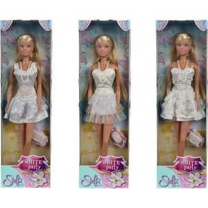 Smoby Кукла Штеффи в белом летнем платье 5730662