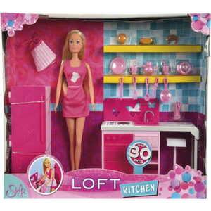 Smoby Кукла Штеффи на кухне + аксессуары 5730409