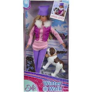 Smoby Кукла Штеффи на прогулке с собакой 5730931