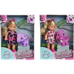 Smoby Кукла Еви с динозавриком, 12 см., 5730940