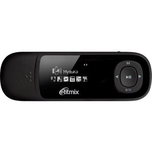 MP3 плеер Ritmix RF-3450 4Gb black ritmix rf 1010 blue