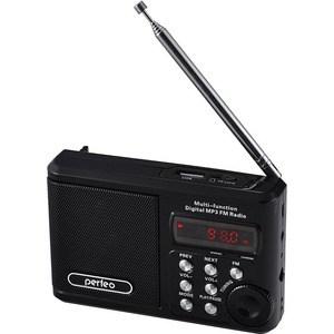 Портативная колонка Perfeo Sound Ranger black портативная акустика perfeo sound ranger 2 вт fm mp3 usb microsd bl 5c 1000mah красный pf sv922 page 8
