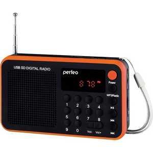 Портативная колонка Perfeo Sound Voyager, orange