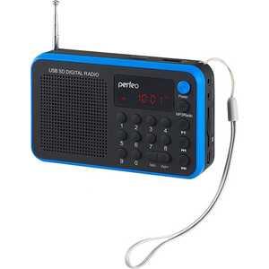 Фотография товара портативная колонка Perfeo Sound Voyager, blue (377229)