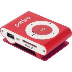 MP3 плеер Perfeo Music Clip Titanium 8 Gb burgundy
