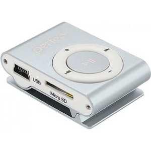 MP3 плеер Perfeo Music Clip Titanium 8 Gb silver