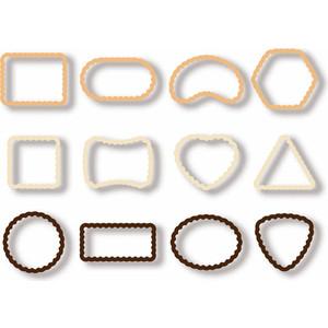 Формочки для печенья Tescoma Delicia 12 шт 630905