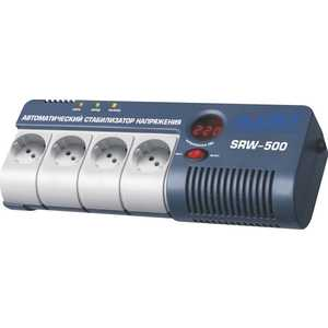 Стабилизатор напряжения RUCELF SRW-500-D стабилизатор rucelf srw 5000va d