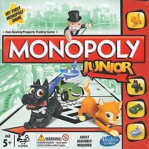 Hasbro Моя первая монополия A6984 hasbro hasbro настольная игра монополия игра престолов