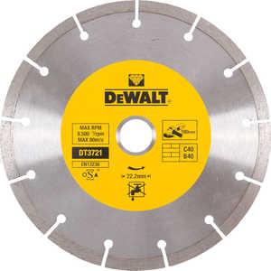Диск алмазный DeWALT 180х22.2мм (DT 3721)