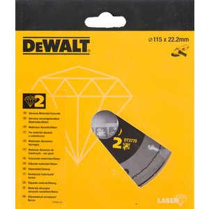 Диск алмазный DeWALT 115х22.2мм (DT 3770)