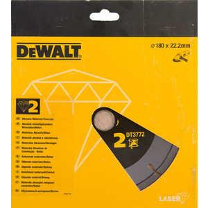 Диск алмазный DeWALT 180х22.2мм (DT 3772)