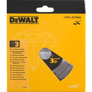 Диск алмазный DeWALT 115х22.2мм (DT 3760)