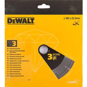 Диск алмазный DeWALT 180х22.2мм (DT 3762)
