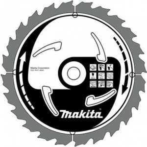Фотография товара диск пильный Makita 355х35/25.4мм 120зубьев (A-81642) (379673)