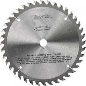Диск пильный Makita 165х20мм 40зубьев (B-31164) диск пильный hitachi 335х30мм 40зубьев tct saw blade 752477