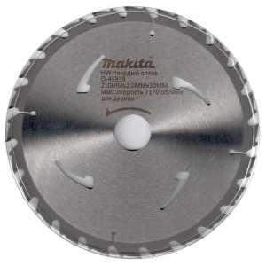 Диск пильный Makita 235х30/25.4/25мм 20зубьев (D-45945)