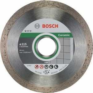 Диск алмазный Bosch 115х22.2 мм 10 шт Standard for Ceramic (2.608.603.231)