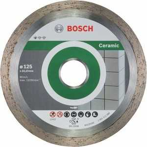 Диск алмазный Bosch 125х22.2 мм 10 шт Standard for Ceramic (2.608.603.232) free shipping 6900 61900 10 22 6mm si3n4 full ceramic bearing 10x22x6mm for bicycle part