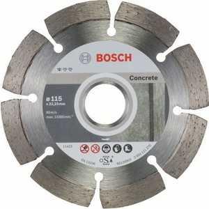 Диск алмазный Bosch 115х22.2 мм 10 шт Standard for Concrete (2.608.603.239) диск алмазный bosch 125х22 2 мм standard for stone 2 608 602 598