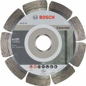 Диск алмазный Bosch 125х22.2 мм 10 шт Standard for Concrete (2.608.603.240) диск алмазный bosch 180х22 2мм professional for concrete 2 608 602 199