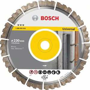 Диск алмазный Bosch 300х25.4 мм Best for Universal (2.608.603.635) диск алмазный bosch 150х22 2 мм best for universal turbo 2 608 602 673
